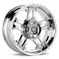 Диск ATX AX181 Artillery (Chrome Plated) 17x9/6-139 ET12