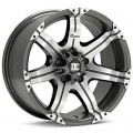 Диск Dick Cepek GM7 (Machined w/Anthracite Accent) 20x8.5/6-139 ET25