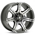 Диск Dick Cepek GM7 (Machined w/Anthracite Accent) 20x9/6-139 ET13