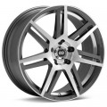 Диск Enkei Performance Aletta (Machined w/Anthracite Accent) 17x7/5-100 ET45