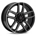 Диск Focal F03 (Machined w/Black Accent) 17x7.5/5-100 ET42
