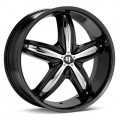 Диск Helo HE844 (Black Painted) 18x8/5-120 ET40