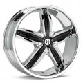 Диск Helo HE844 (Chrome Plated) 18x8/5-120 ET40