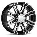 Диск Helo HE835 (Machined w/Black Accent) 17x8/6-139 ET00