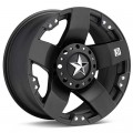 Диск KMC XD Series XD775 Rockstar (Black Painted) 17x8/5-114 ET35
