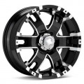Диск Ultra Baron (Machined w/Black Accent) 17x9/6-139 ET25